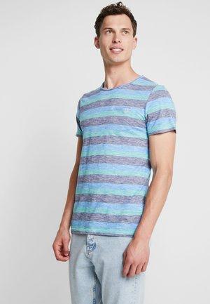 T-shirt med print - blue base/multi