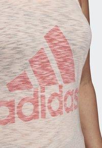 adidas Performance - WINNERS TANK TOP (PLUS SIZE) - Top - pink - 5