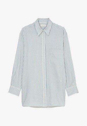 BOYFRIEND - Button-down blouse - light blue