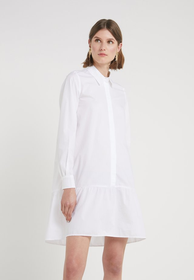 ROSA ALLIA DRESS - Shirt dress - white