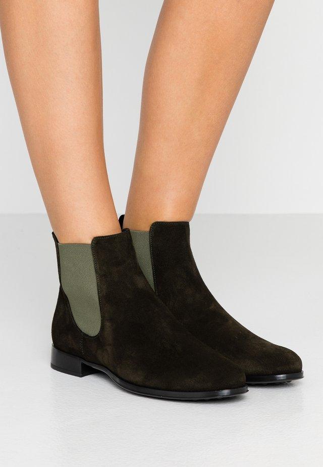 CROSTINA - Boots à talons - mimetico suttone