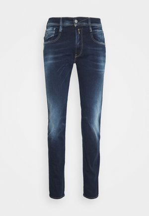 ANBASS HYPERFLEX REUSED X LITE - Slim fit jeans - dark blue