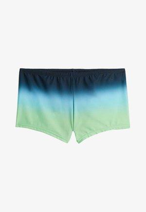 Swimming shorts - royal blue, green, blue