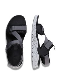 Timberland - RIPCORD - Walking sandals - black - 1