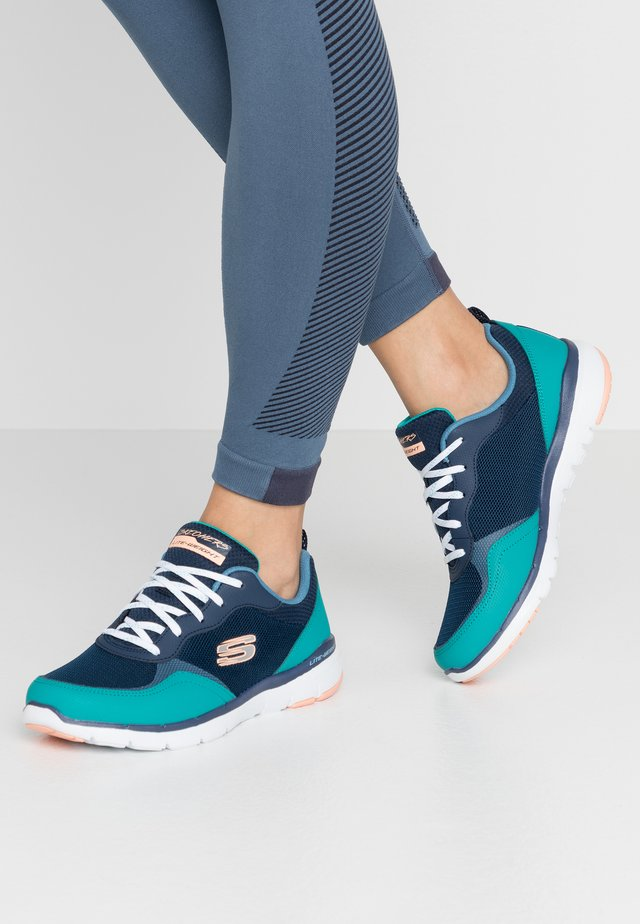 FLEX APPEAL 3.0 - Trainers - navy/turquoise/pink