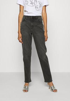MOM - Jeans slim fit - washed black