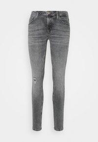 Marc O'Polo DENIM - ALVA REGULAR - Slim fit jeans - multi/pigeon mid grey - 4