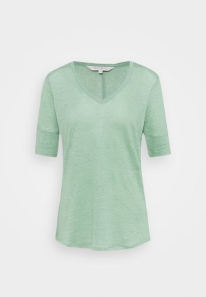 CURLY - Basic T-shirt - granite green