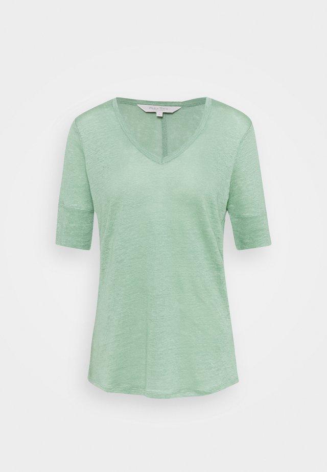 CURLY - Jednoduché triko - granite green
