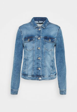 ONLTIA LIFE JACKET - Denim jacket - light blue denim