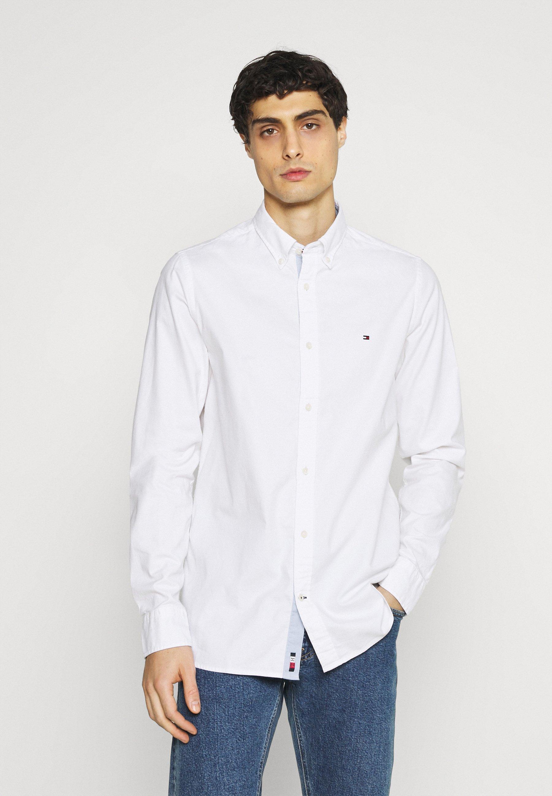 Men SLIM FLEX DOBBY - Shirt