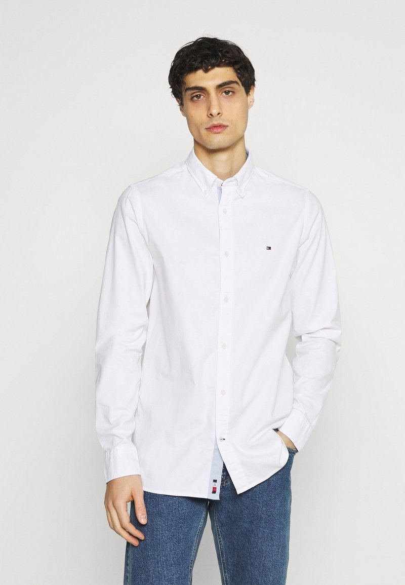 Tommy Hilfiger - SLIM FLEX DOBBY - Shirt - white