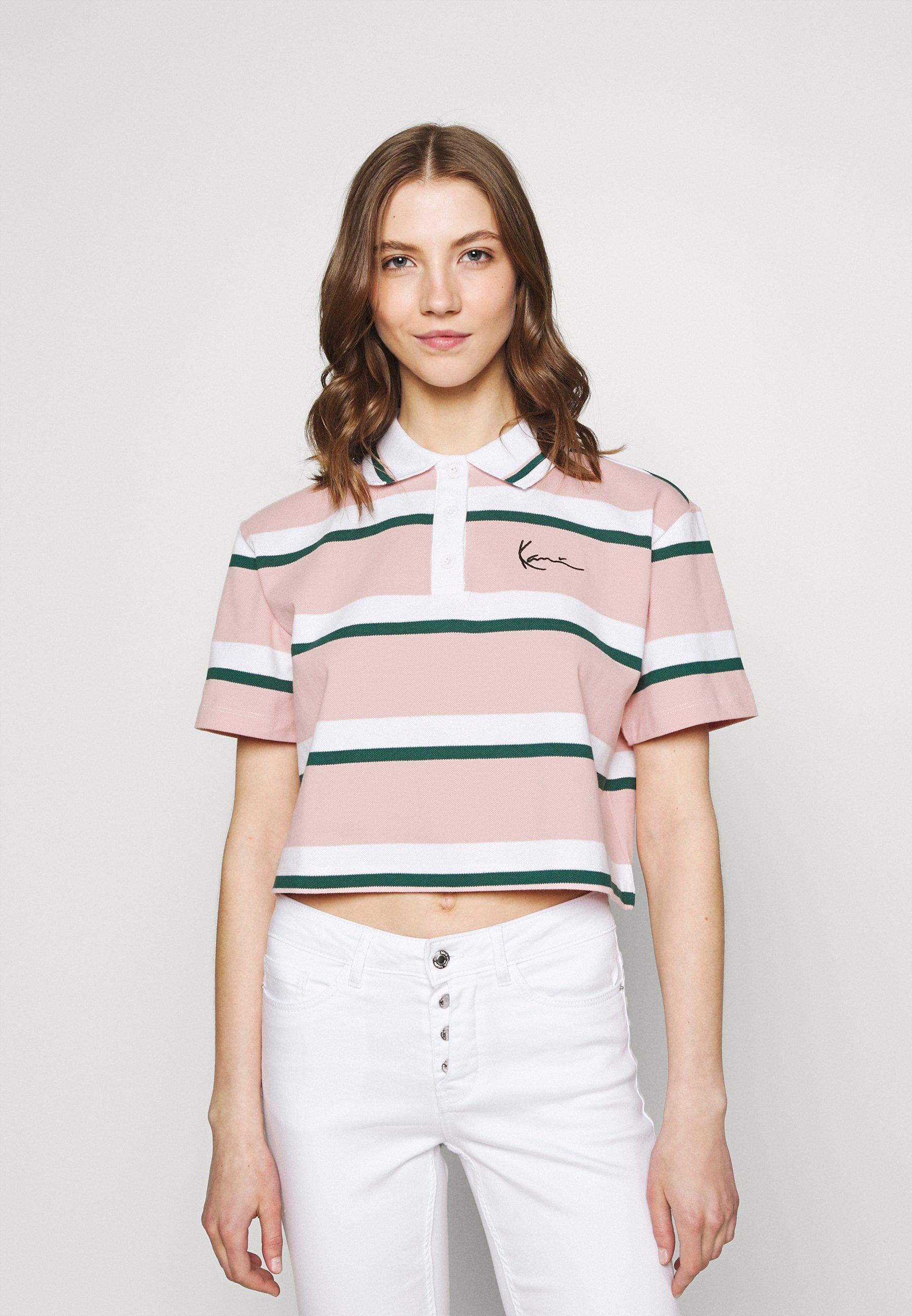 Women SMALL SIGNATURE STRIPE SHORT TEE - Polo shirt