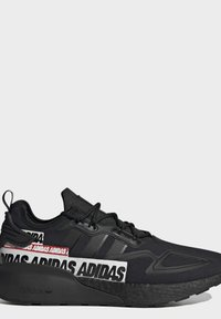 adidas Originals - ZX 2K BOOST SHOES - Sneakers basse - black - 5