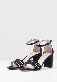 HUGO - APRIL - Sandals - dark blue - 4