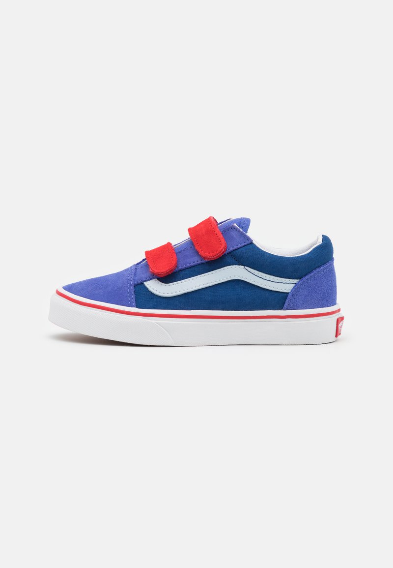 Vans - OLD SKOOL UNISEX - Trainers - baja blue/high risk red