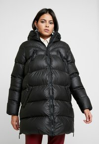 Hunter ORIGINAL - WOMENS ORIGINAL PUFFER JACKET - Winter coat - black - 0