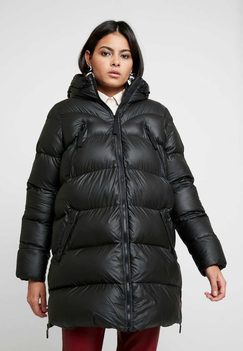 Hunter ORIGINAL - WOMENS ORIGINAL PUFFER JACKET - Winter coat - black