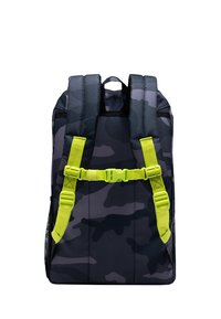 Herschel - LITTLE AMERICA YOUTH - Rucksack - night camo/lime punch - 1