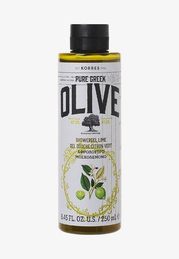 OLIVE & LIME SHOWER GEL