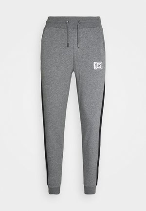 LUXE MUSCLE FIT JOGGER - Tracksuit bottoms - grey marl