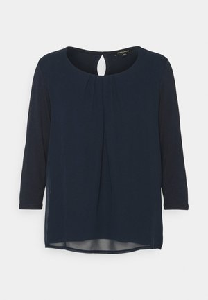 PATCHED - Long sleeved top - marine
