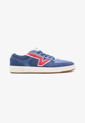 UA LOWLAND CC - Sneakers laag - NAVY/RED