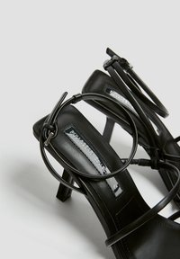 PULL&BEAR - High heeled sandals - black - 5