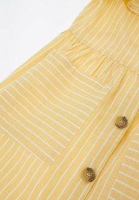 DeFacto - Shirt dress - yellow - 3