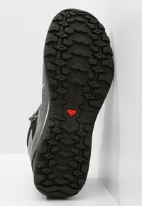 Salomon - ELLIPSE 2 MID GTX - Chaussures de marche - lead/stormy weather/coral almond - 4