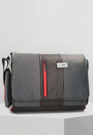 Across body bag - grey black