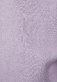 Bershka - MIT RUNDAUSSCHNITT  - Sweatshirt - mauve - 5