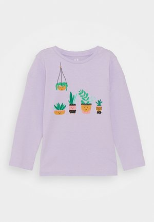 PENELOPE LONG SLEEVE TEE - Long sleeved top - vintage lilac