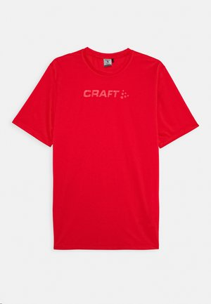CORE ESSENCE TEE  - T-Shirt print - red