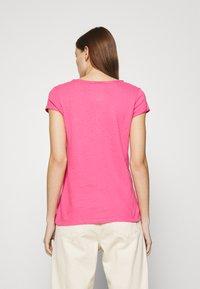 Mos Mosh - TROY TEE - Basic T-shirt - fandango pink - 2