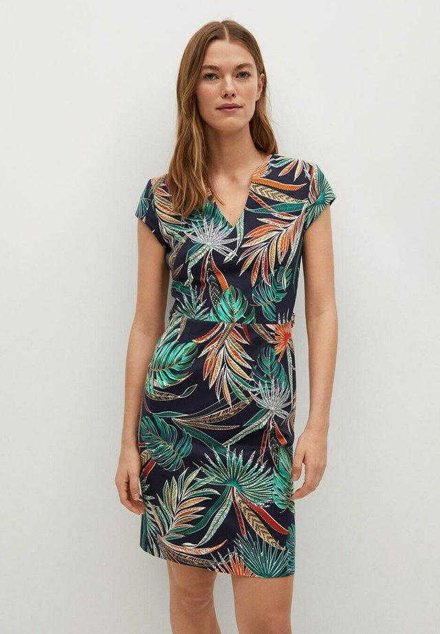 COFIP6-N - Sukienka letnia - dunkles marineblau