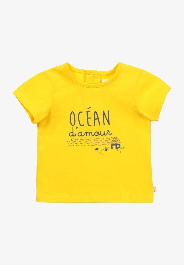 T-shirt print - colza