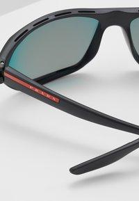 Prada Linea Rossa - Sunglasses - black/blue/red - 4