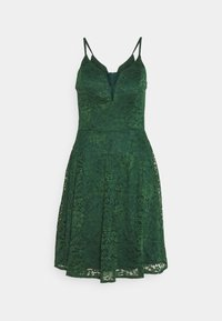 WAL G. - CAMRYN STRAPPY SKATER DRESS - Cocktail dress / Party dress - forest green - 5