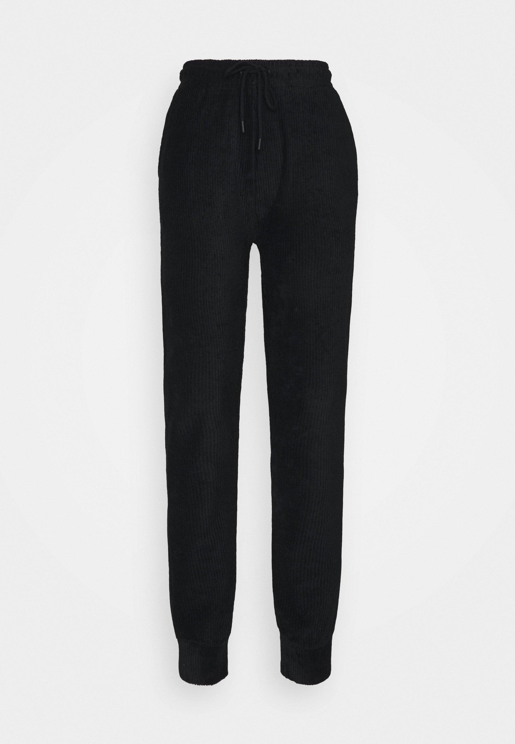 Donna HIGH WAIST TOWELLING - Pantaloni sportivi