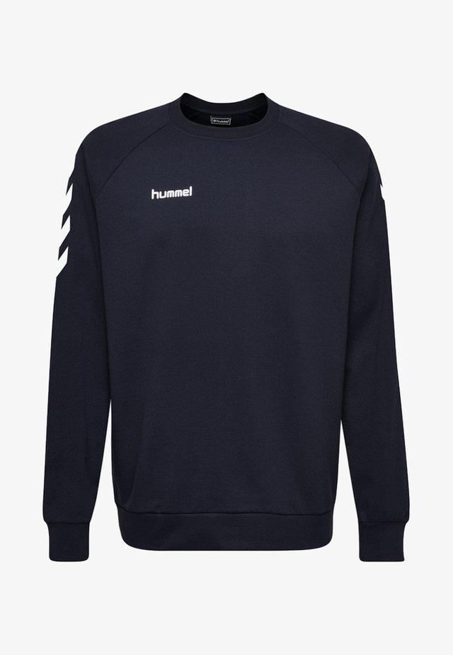 HMLGO  - Sweater - marine blue