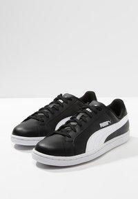 Puma - SMASH L - Sneakers laag - black-white - 2