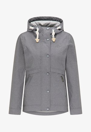 Parka - mottled grey