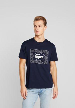 TH5097-00 - Print T-shirt - marine