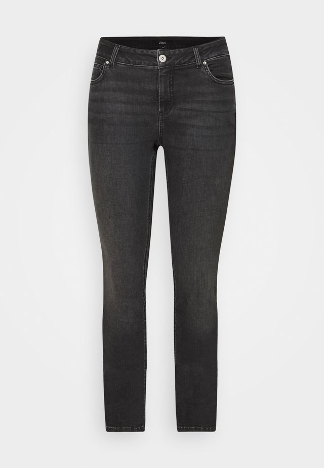 JPOSH LONG SANNA - Jeans Skinny Fit - grey denim