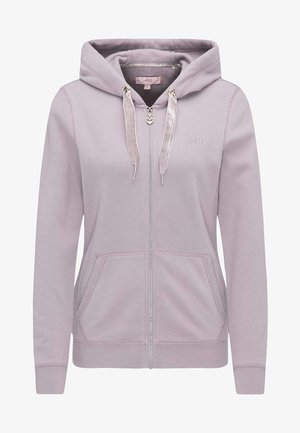 veste en sweat zippée - lilac