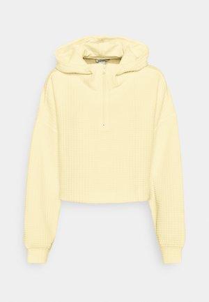 WAMI HALF ZIP - Sweatshirt - yellow light