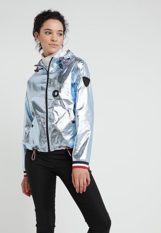Lett jakke - metallic