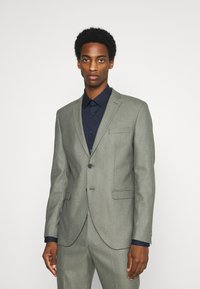 Selected Homme - SLHMYLOLOGAN  - Anzug - grey/structure - 0