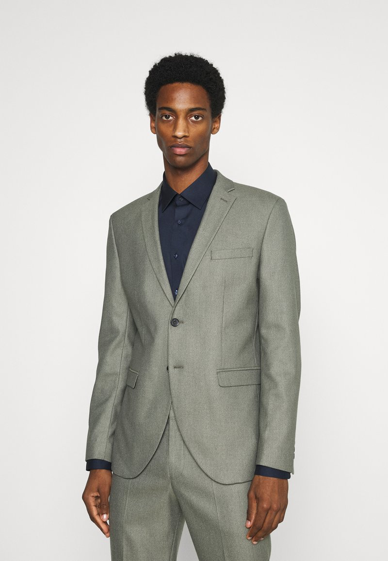 Selected Homme - SLHMYLOLOGAN  - Anzug - grey/structure